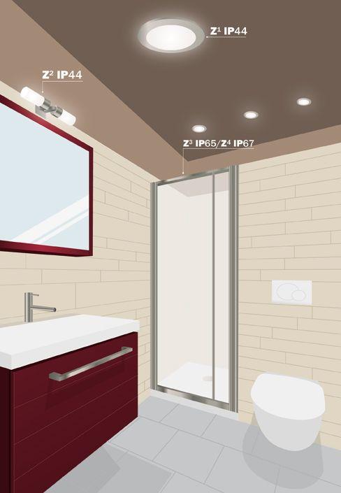 Resultado de imagen de iluminacion ba os techo ba os - Iluminacion banos pequenos ...