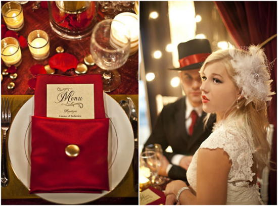 Old Hollywood Theme Weddings Must Have Glam Elements