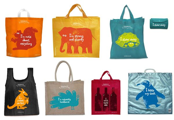 Sainsbury S Reusable Bags Sainsburys Co Uk