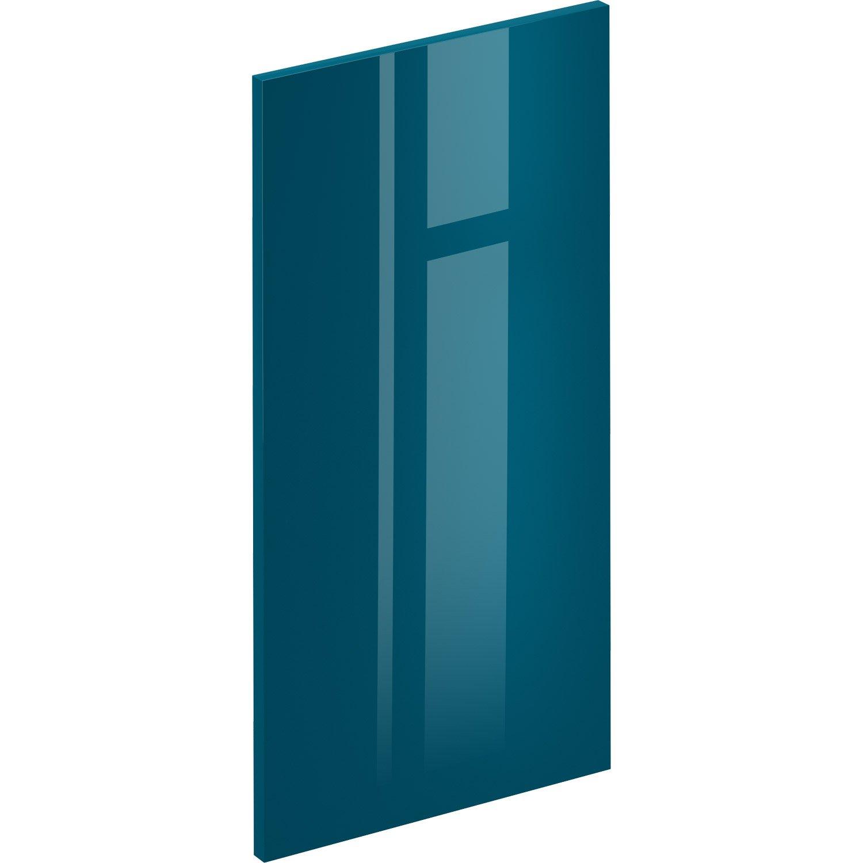 Porte De Cuisine Sevilla Bleu Paon Delinia Id H768 X L
