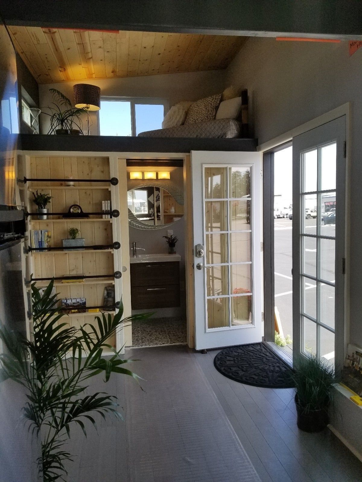 Details about 26' Custom Built Tiny House #tinyhousebathroom