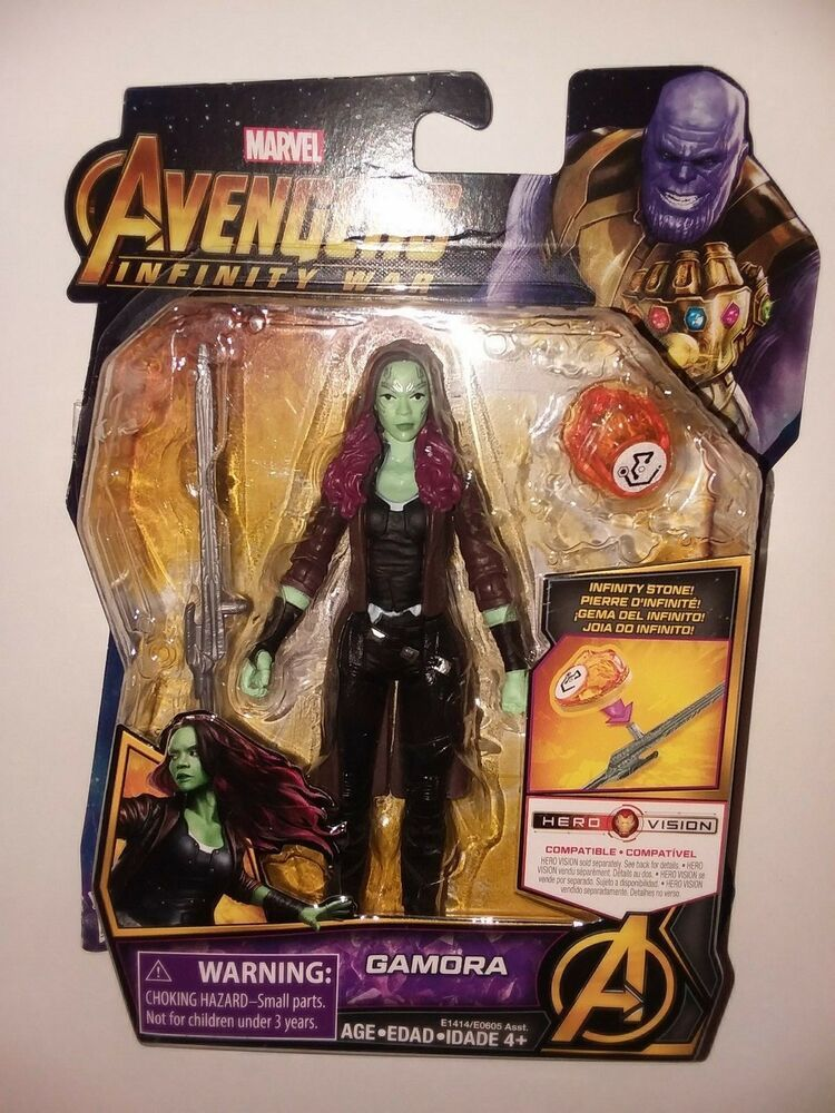 Marvel Avengers Infinity War Gamora with Infinity Stone Action Figure Guardians
