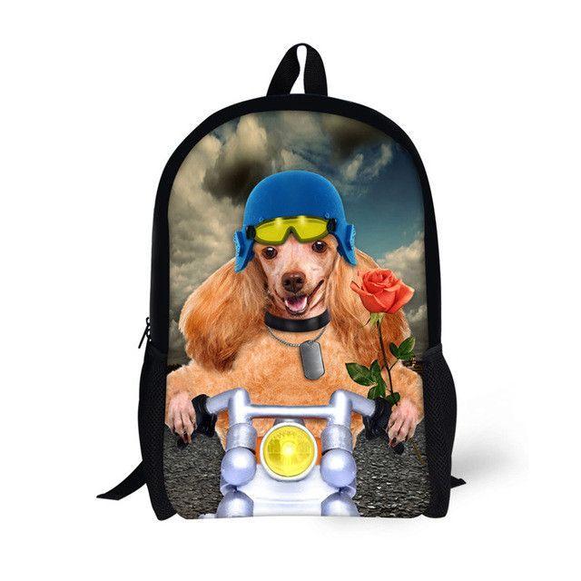 3516389e2a2c FORUDESIGNS 16 Inch Schoolbag for Boys Girls