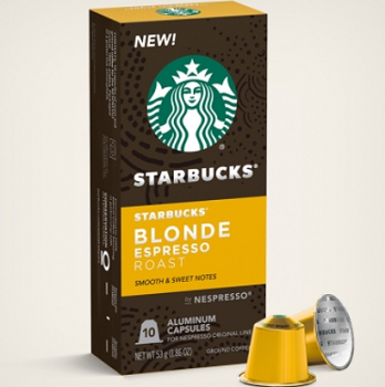 NEW Starbucks Coffee for Nespresso Original Line Machines