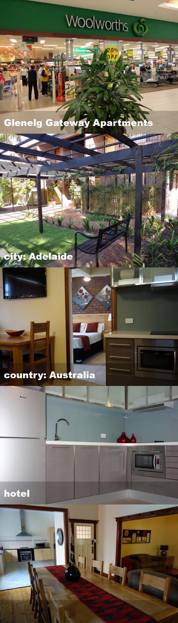 Glenelg Gateway Apartments, city: Adelaide, country ...