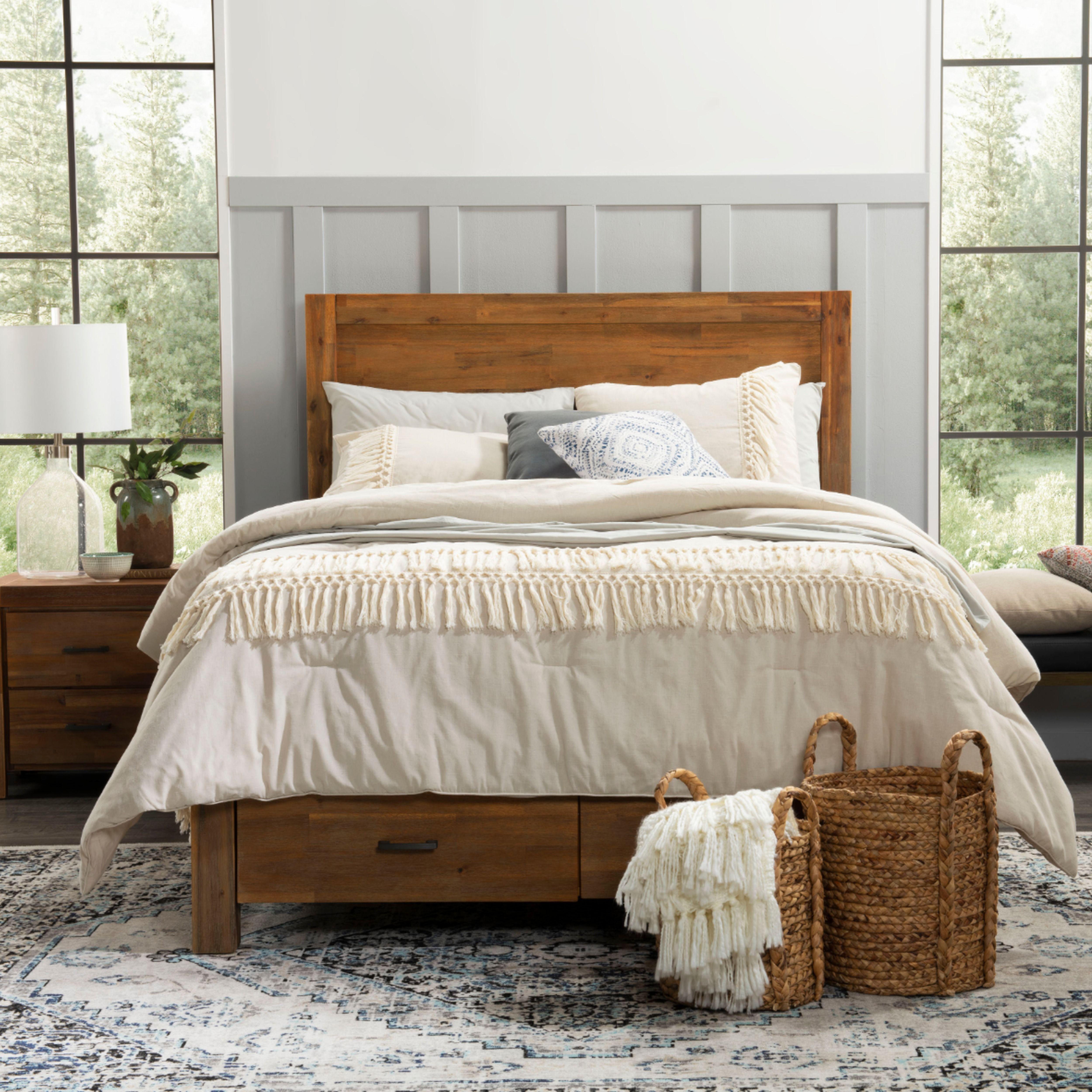 Acadia Queen Storage Bed Storage Bed Queen Storage Bed Bedroom Design Inspiration Solid wood queen storage bed