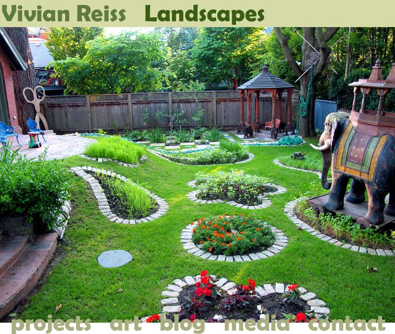 Beautiful Home Gardens Designs Ideas: Vivian Reiss Landscape Design Site Is
