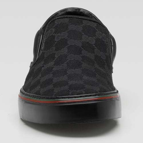 Gucci Sneakers | Gucci Slip On Sneakers (black)   Sneaker Cabinet