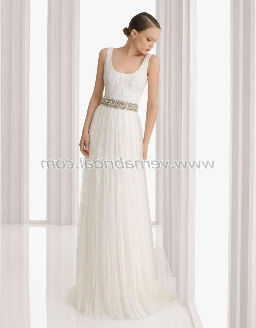 Tank Top Style Wedding Dresses