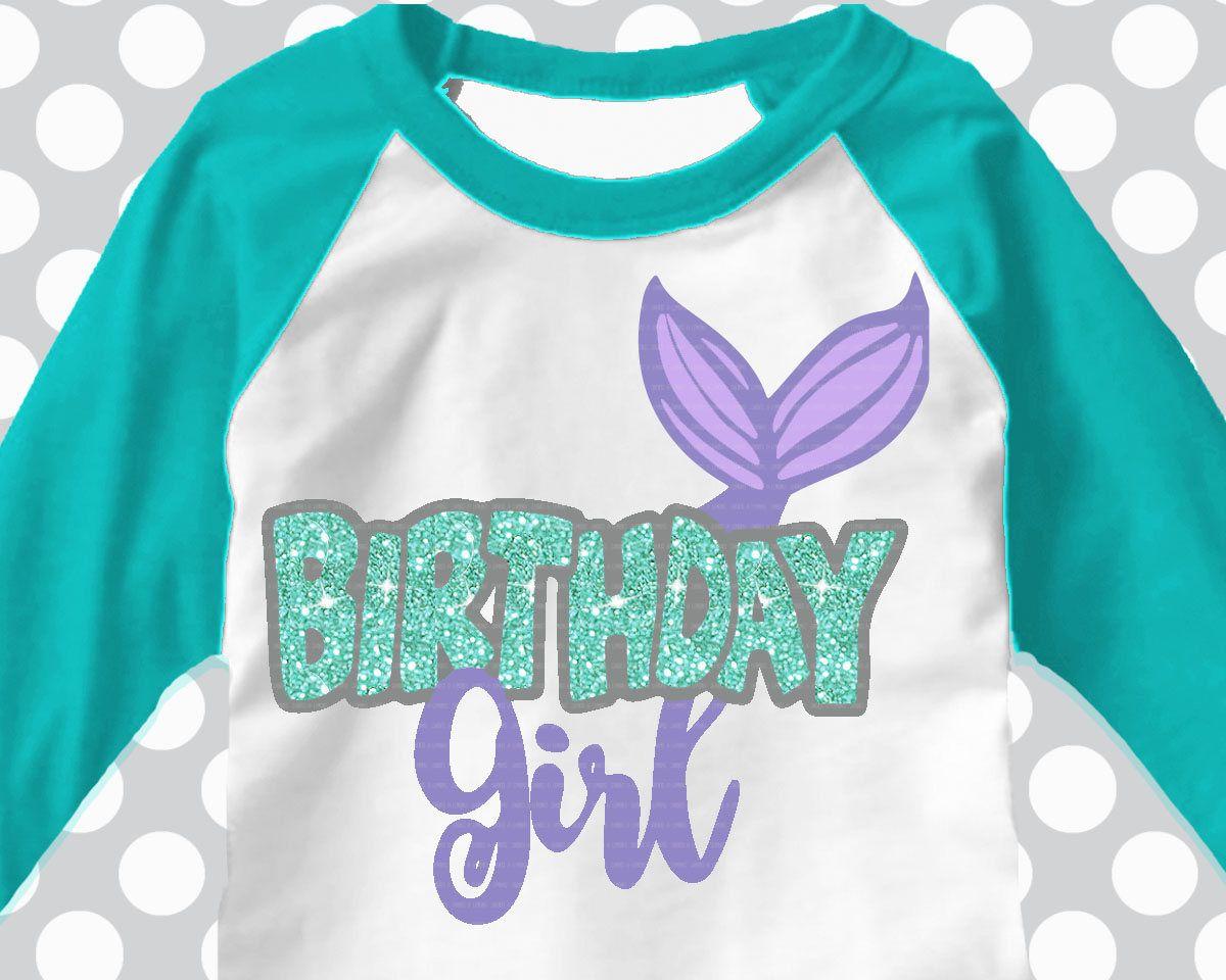 Mermaid svg, Mermaid birthday, Birthday girl, Mirrored
