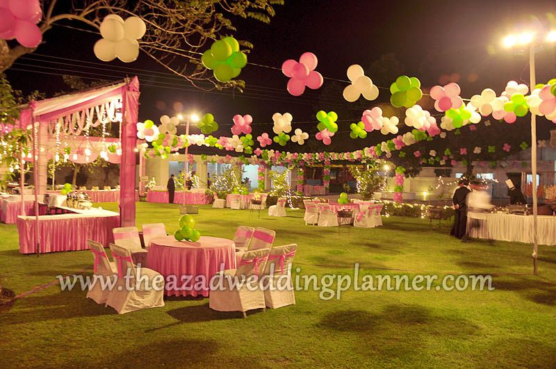 Love the balloons Birthday Theme Party Outdoor Balloon