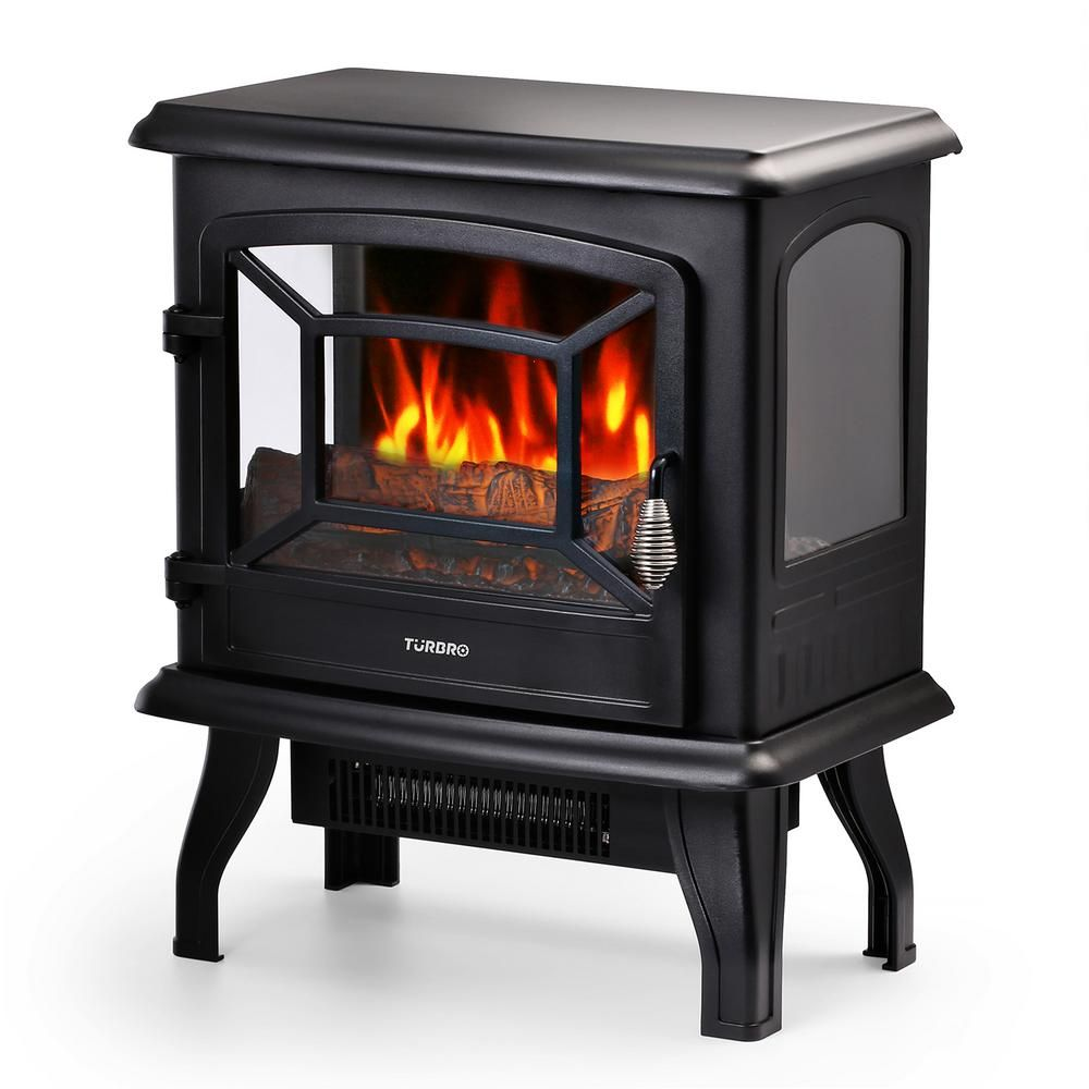 Turbro Suburbs Ts20 17 In Freestanding Electric Fireplace In