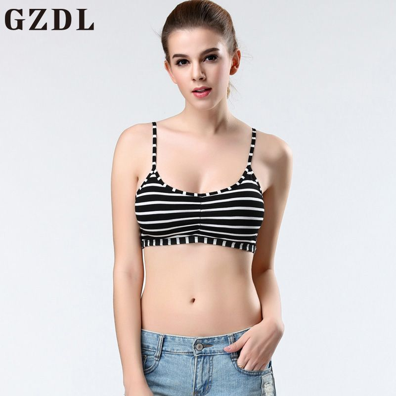 314651fb221 Lady Fashion Bralette Caged Back Cut Out Strappy Padded Bra Bralet Vest  Crop Top   9.95