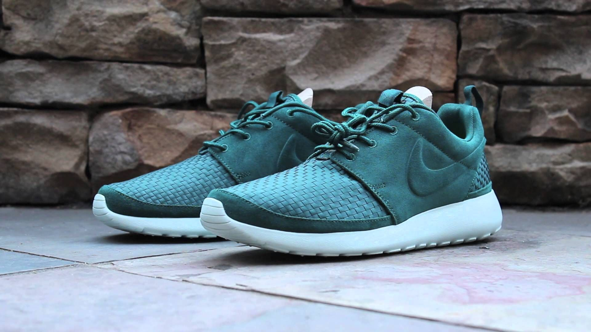 timeless design b7347 46381 Nike Roshe Run Woven in Mono Green colourway. My first pair of Roshies,  but not my last! I bought these for my last trip to Japan.