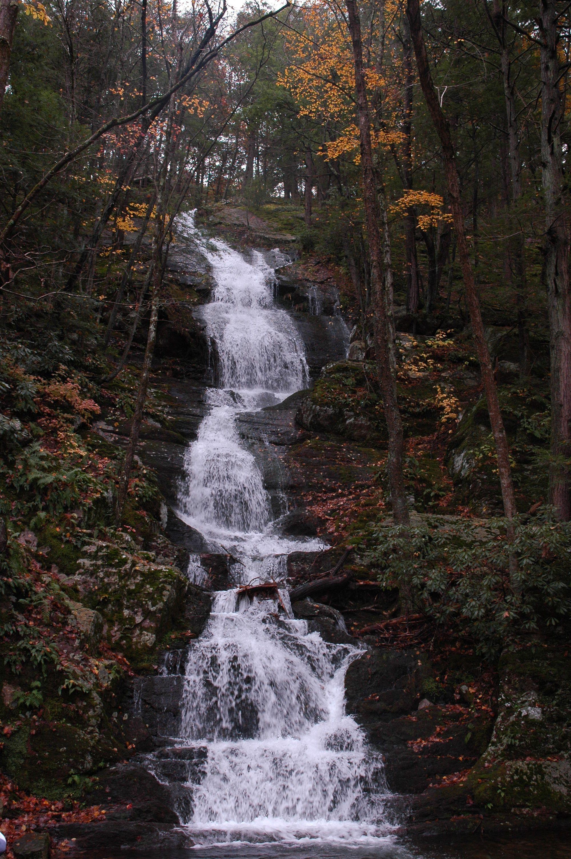 Buttermilk Falls, Kittatinny Mountain, NJ | Pocono waterfalls in