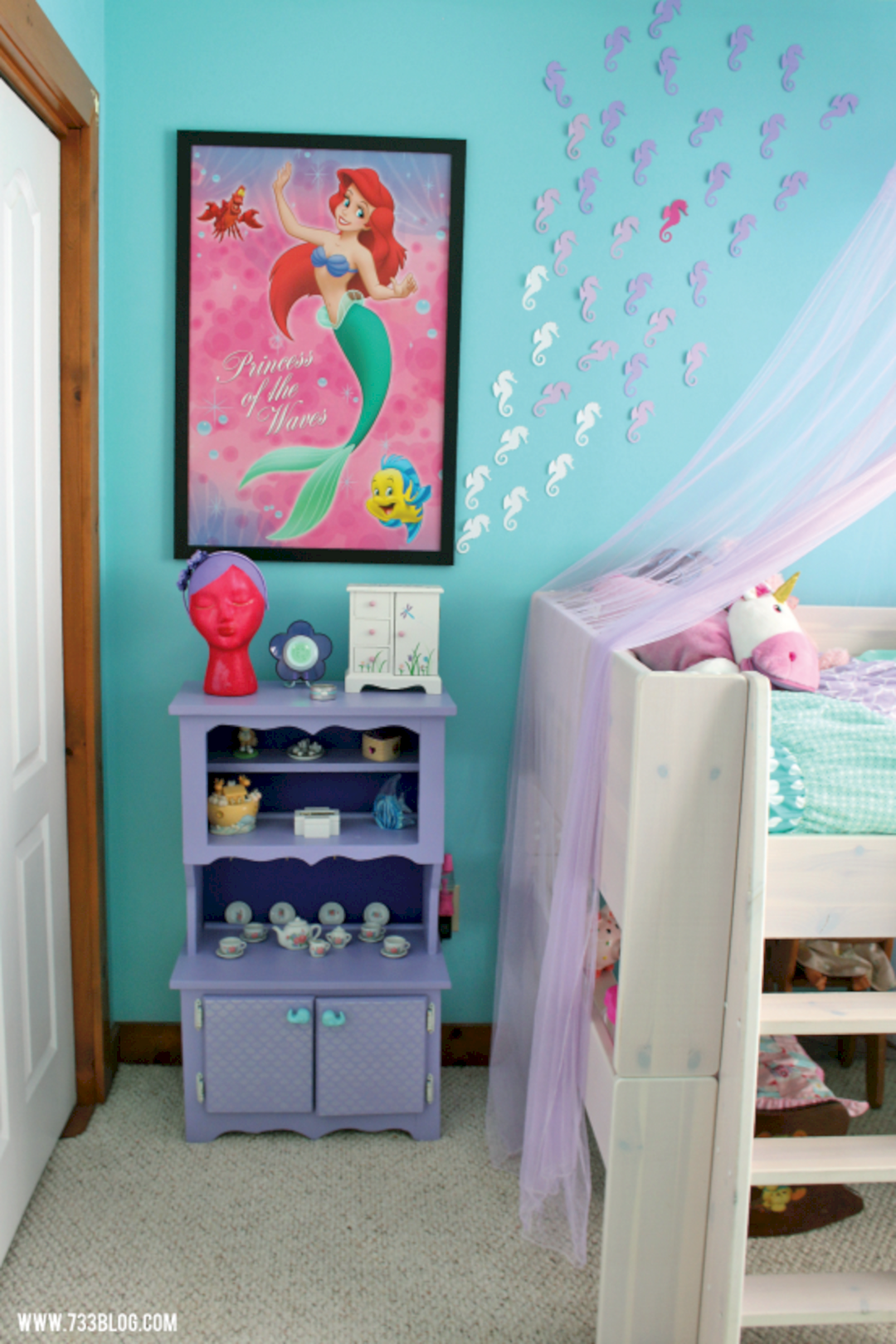 35 best and marvelous mermaid room decorations ideas for