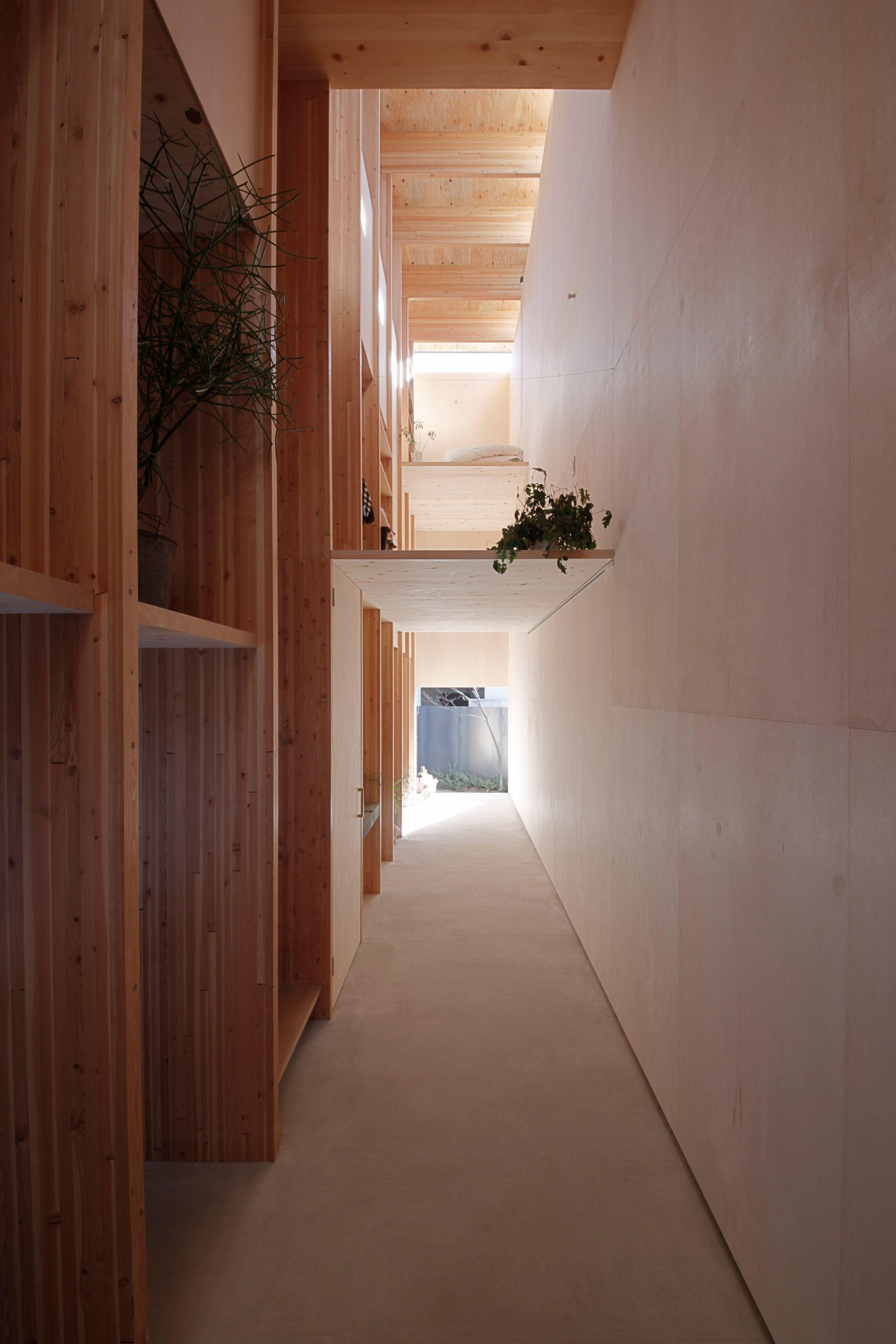 Katsutoshi Sasakis Minimalist Home Has A Dark Exterior And A