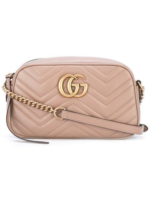 53f469e13ec GUCCI GG Marmont shoulder bag.  gucci  bags  shoulder bags  lining  suede