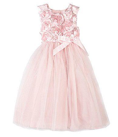 7e564a130355 Pippa and Julie 2T6X SoutacheBodice Ballerina Dress  Dillards Flower ...