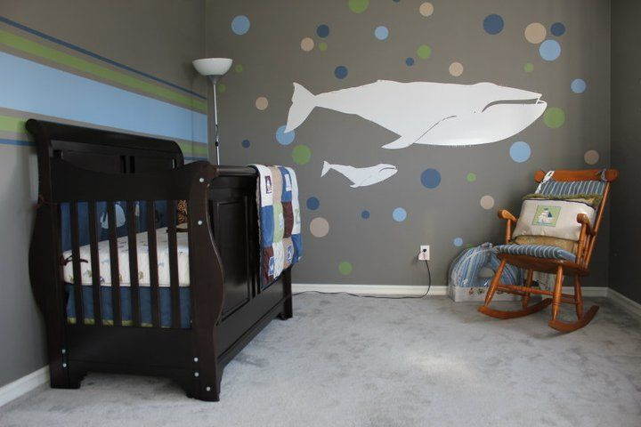Baby room... so serene and filled with love.