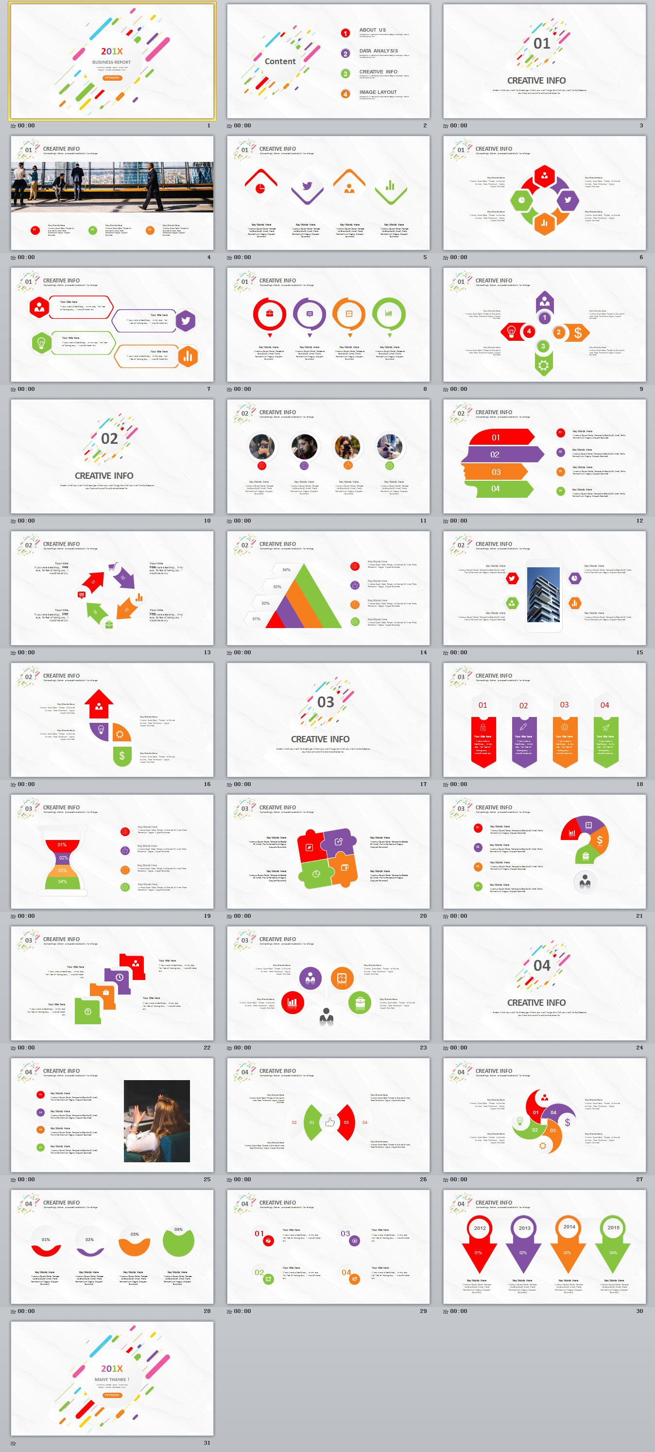 31 creative infographics business powerpoint template powerpoint