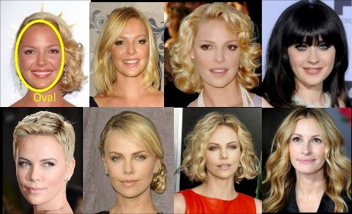 Best Hairstyles For Your Face Shape Oval Face Shape Wardrobe