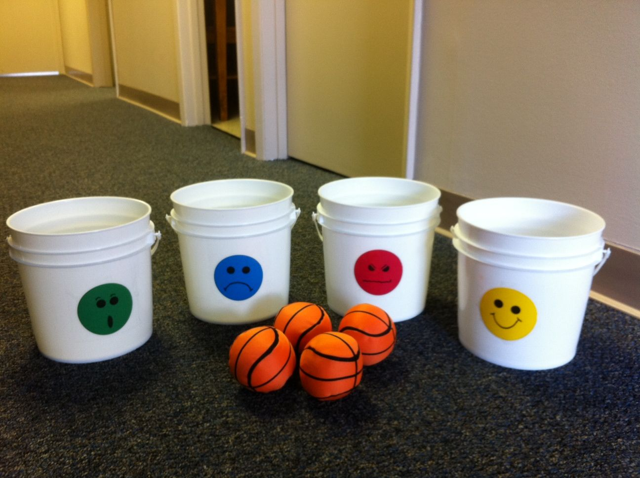 Feelings Bucket Toss Classroom