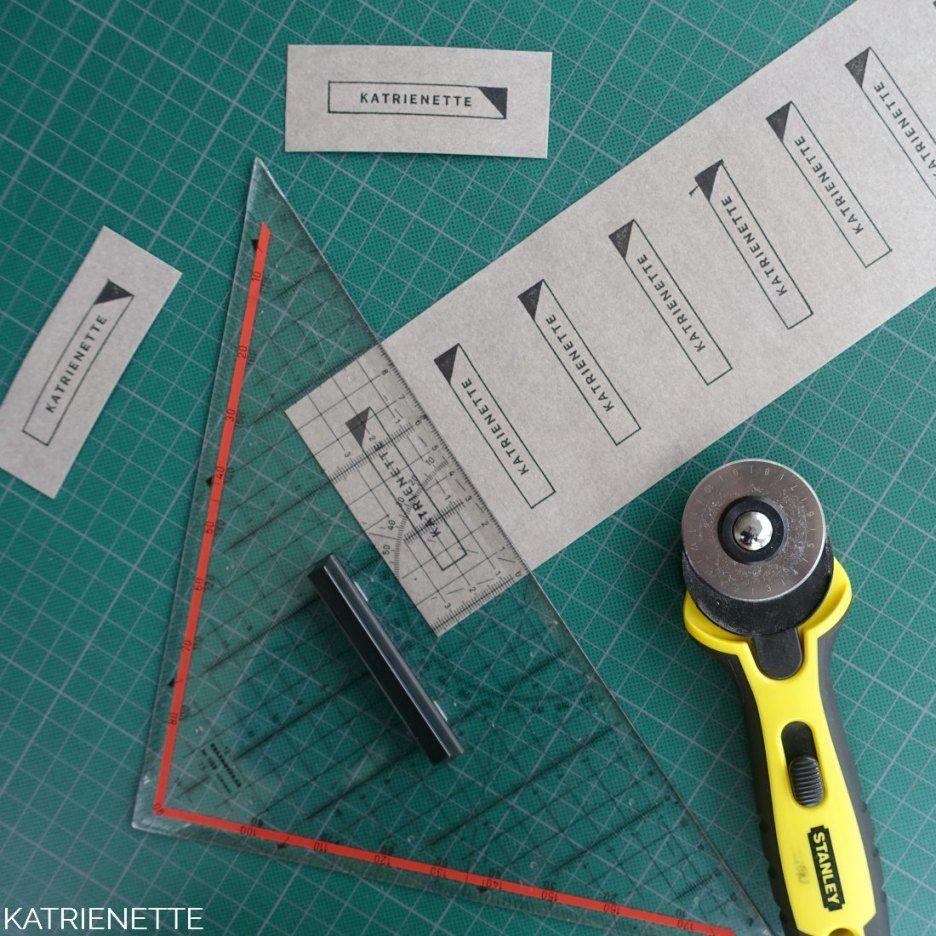Verbazingwekkend Tutorial: zelf je labels maken (met afbeeldingen)   Zelf GX-42