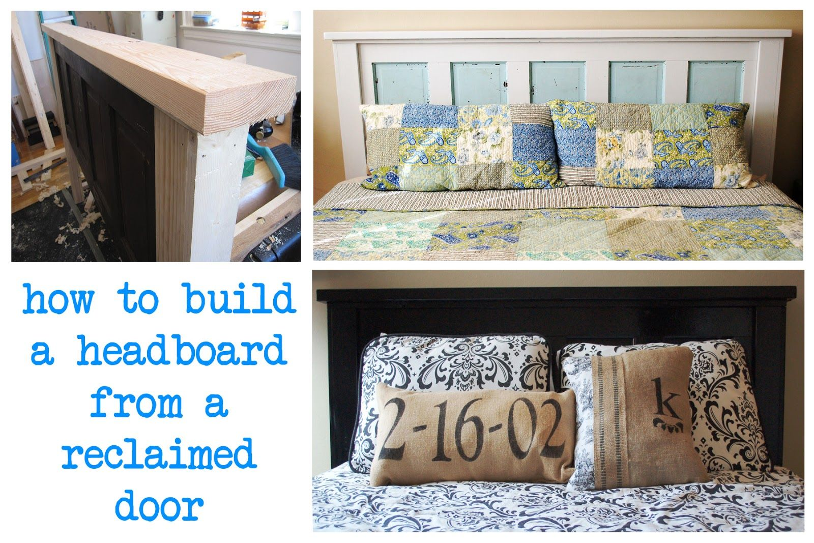How To Make Old Doors Into Headboards Ain T She Crafty
