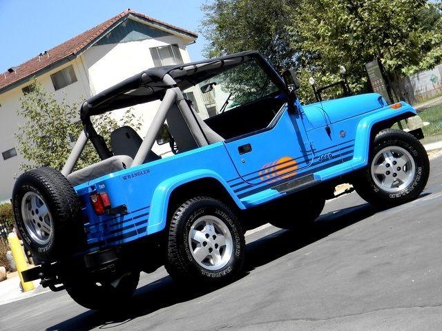 wrangler islander for sale 1990 jeep wrangler islander photo 57 glendale ca 91201. Black Bedroom Furniture Sets. Home Design Ideas