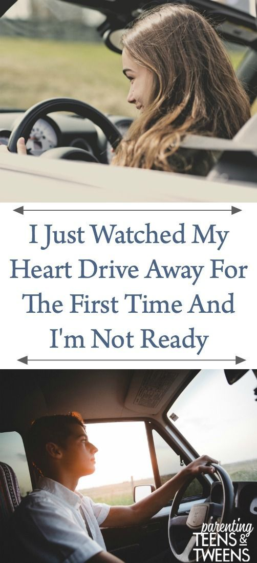 Photo of I Just Watched My Heart Drive Away For The First Time And I'm Not Ready #NewDriv…