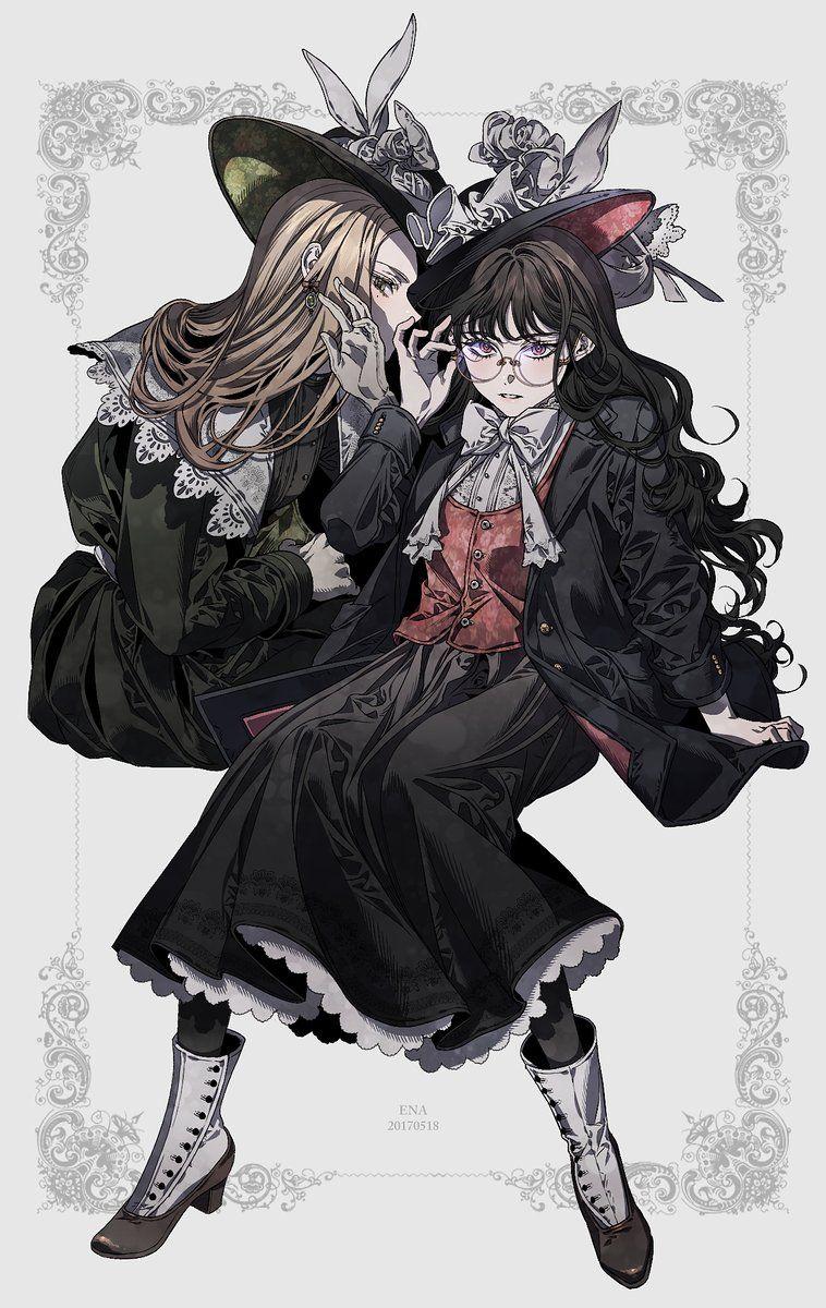 에나 on Anime art, Character inspiration, Art girl