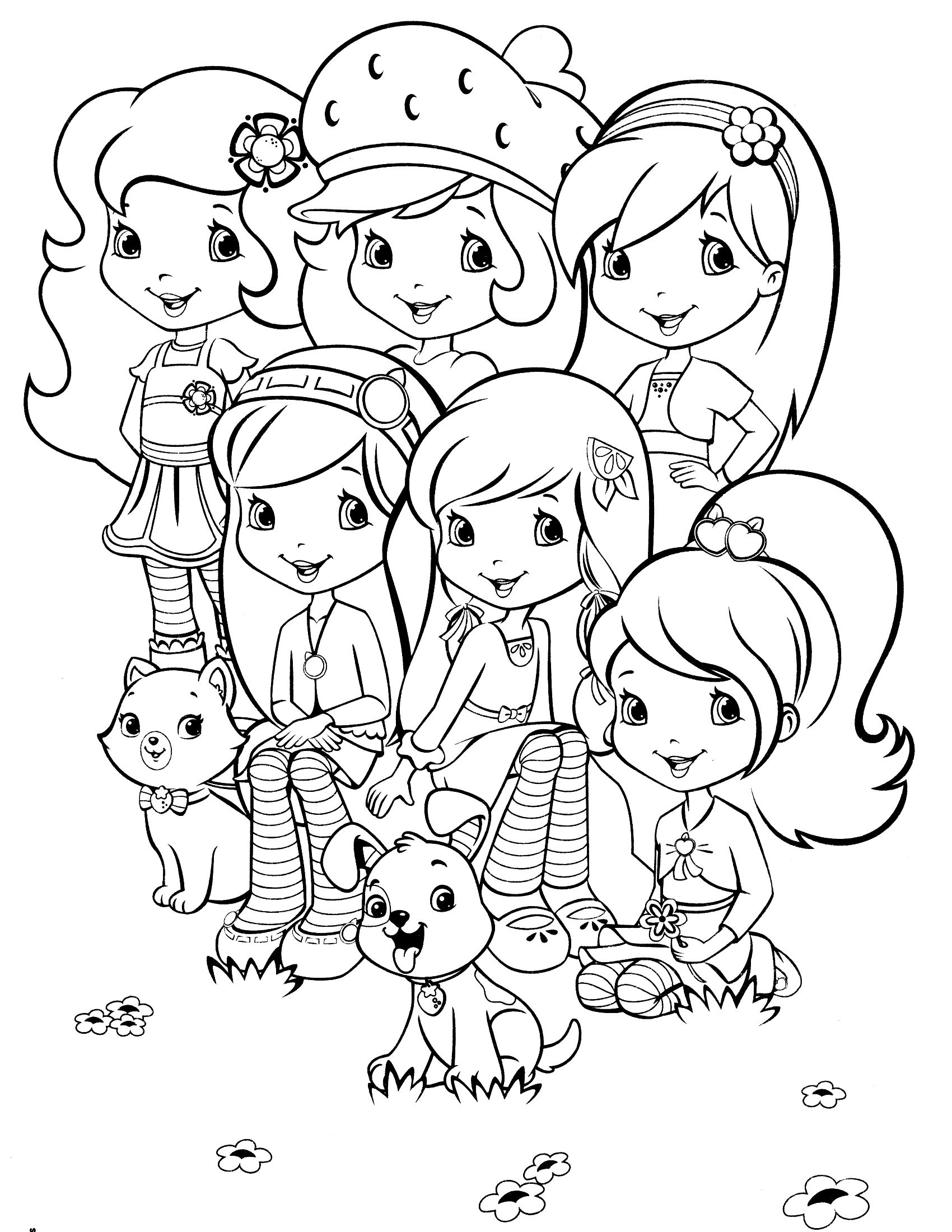 image about Strawberry Shortcake Printable Coloring Pages called strawberry shortcake printables Strawberry Shortcake
