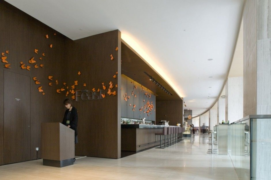East hotel design by cl3 architects architecture for Design hotel reception