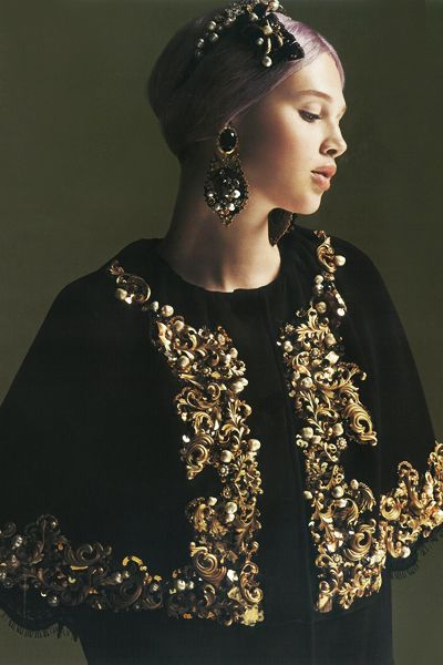 dolce and gabbana cape - Google Search