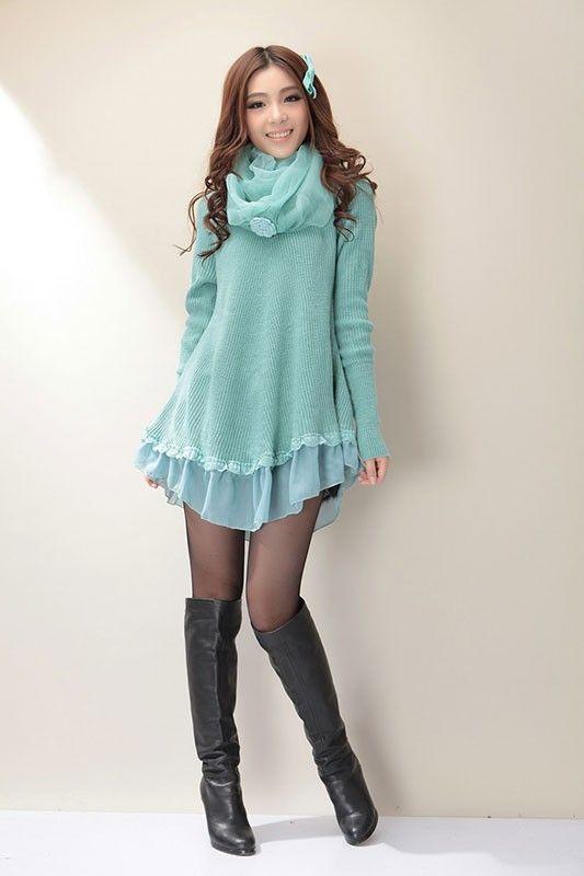 Mango Doll - Cute Knit Sweater Dress , $48.00 (http://www ...