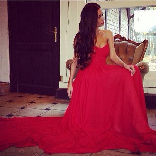 Red dress :D