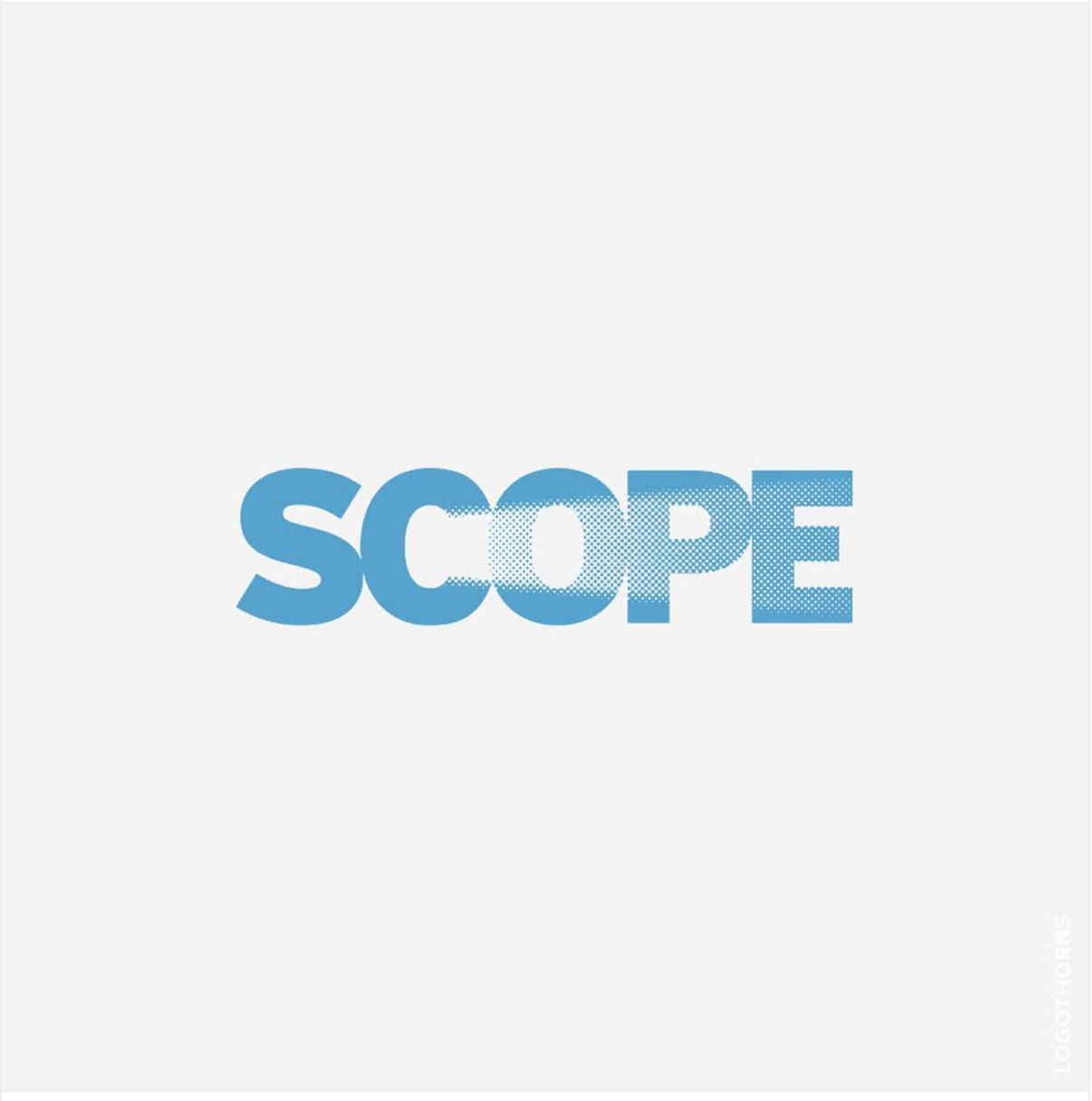SCOPE logo...clever