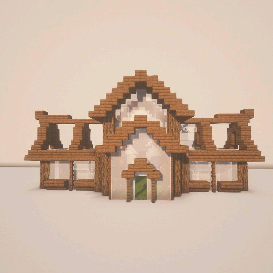 Reddit - Minecraftbuilds - The tutorial of a green