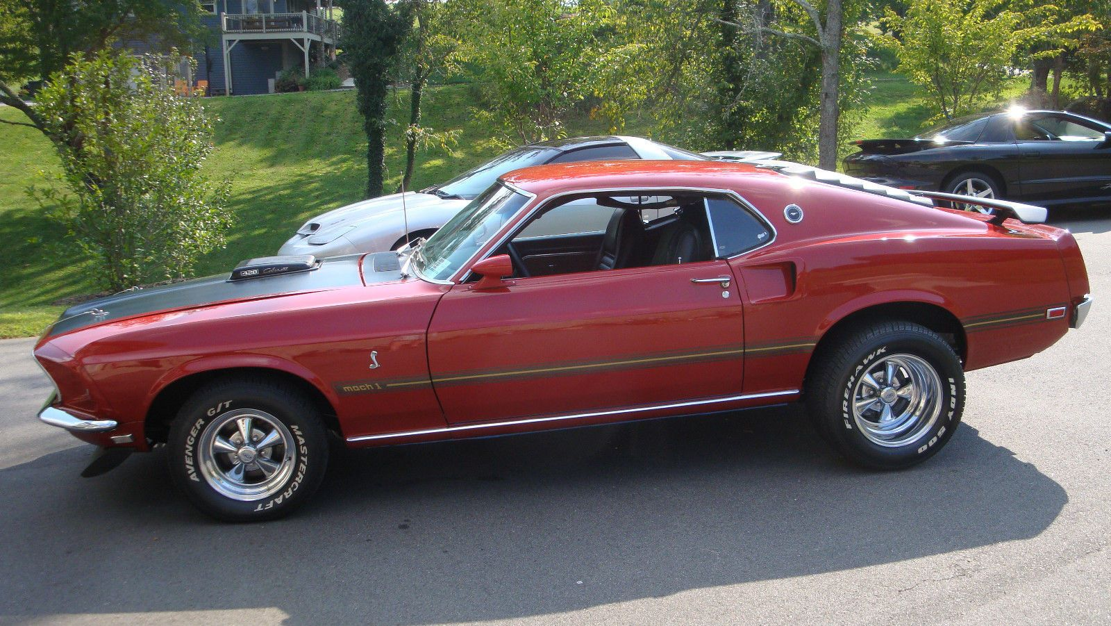 1969 Ford Mustang Mach 1 428 Candy Apple Red 428cj With Images Ford Mustang Muscle Cars Best Muscle Cars