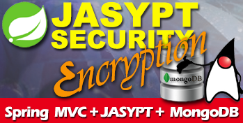 JASYPT Password Encryption with Spring MVC REST API and