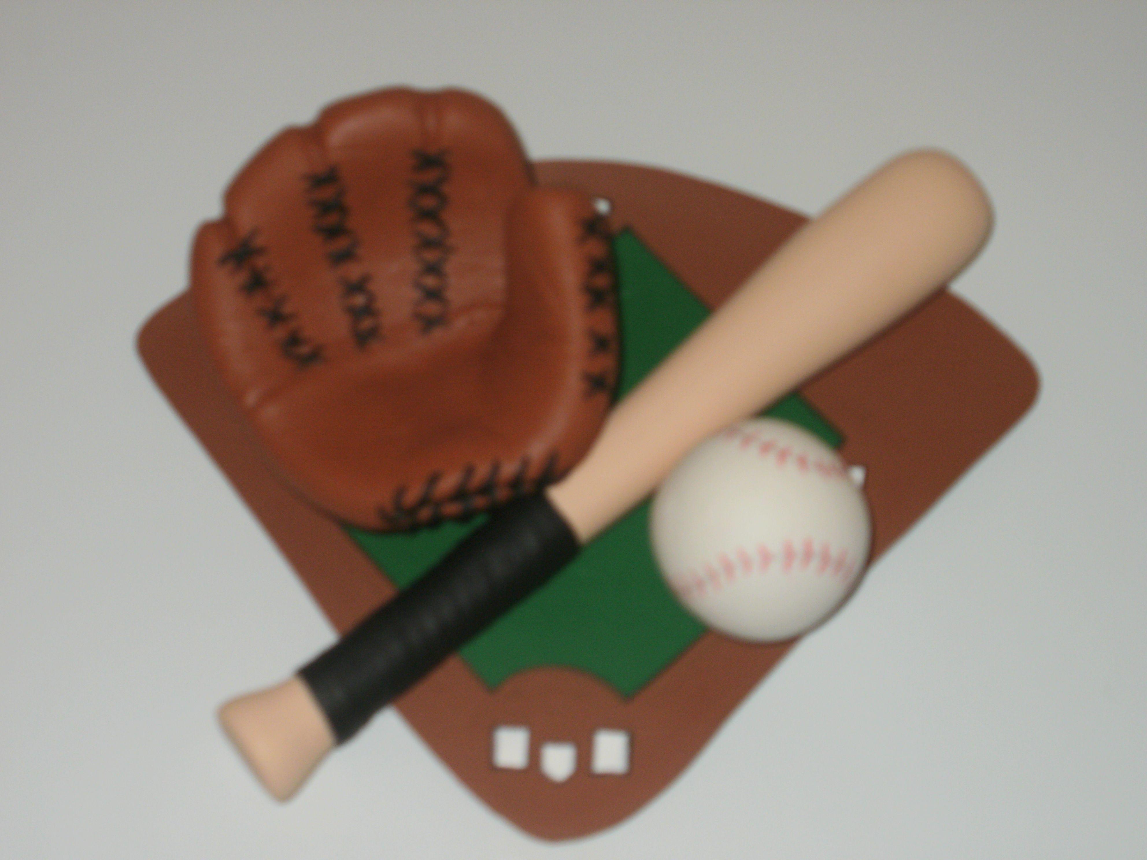 guante beisbol centro de torta | moldes | Pinterest | Béisbol ...