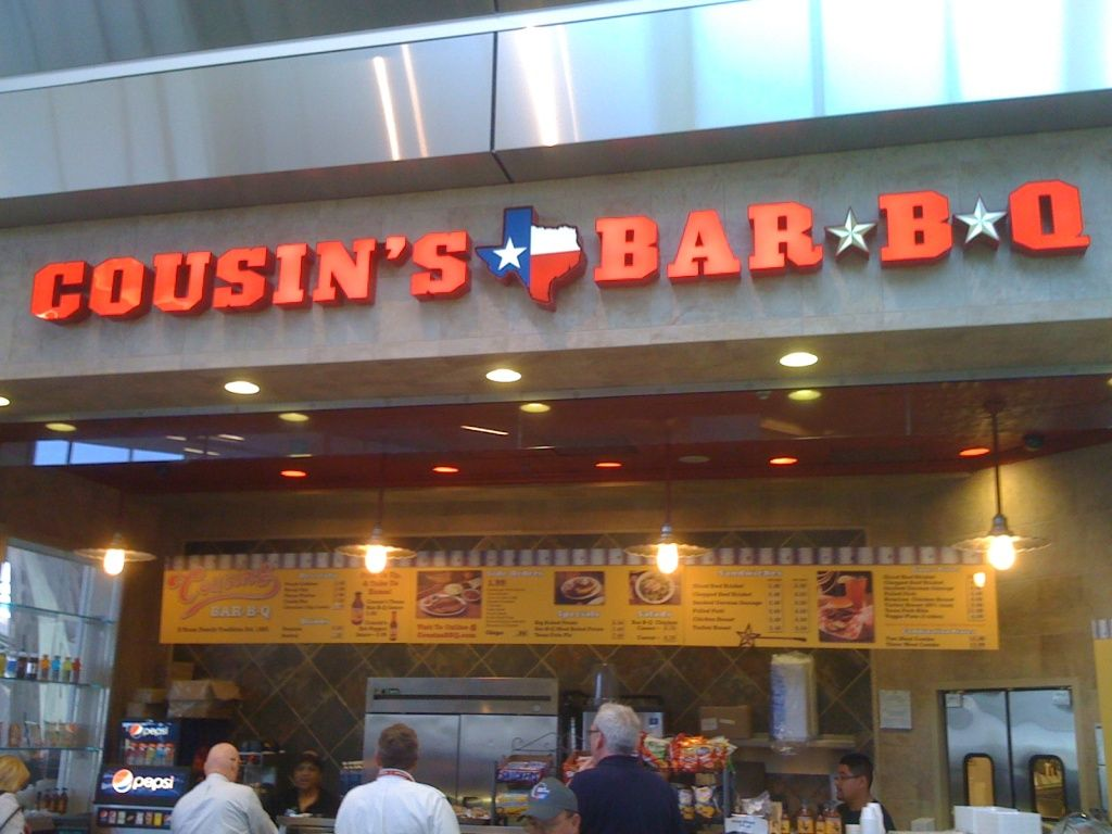 Cousins Bbq Dallas Fort Worth Airport Terminal B Gate 28