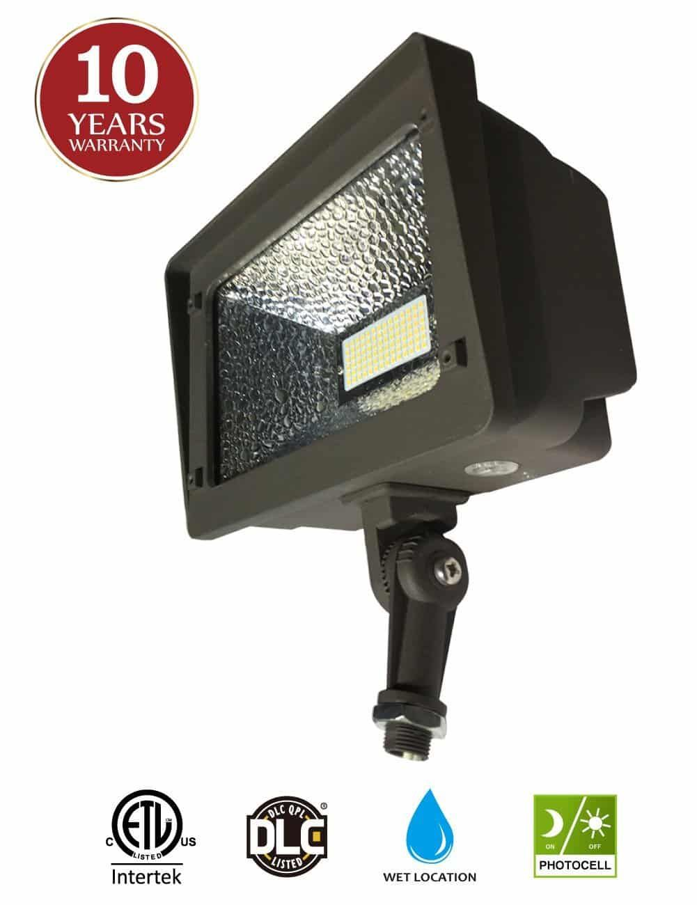 Led Flood Light Dusk To Dawn Photocell By Kadision