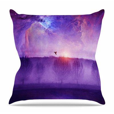 "East Urban Home Orion Nebula by Viviana Gonzalez Throw Pillow Size: 20"" H x 20"" W x 4"" D"