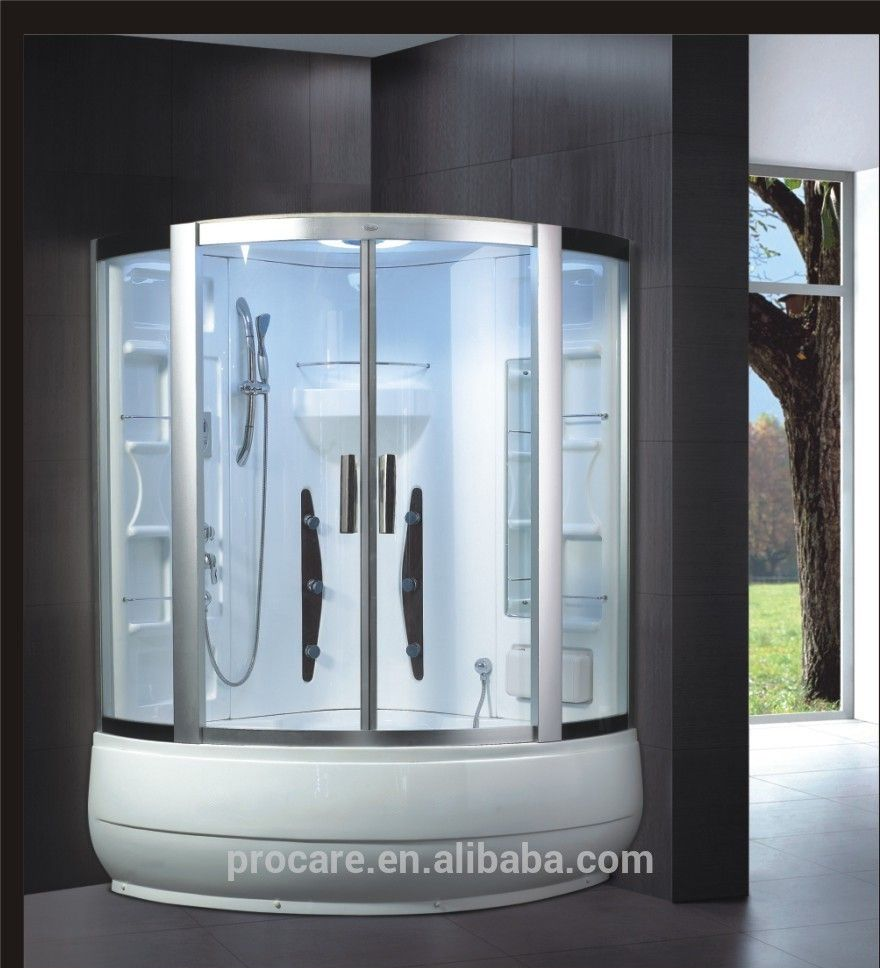 Home Use Double Steam Bath Prices With Jacuzzi Combined Steam Shower ...