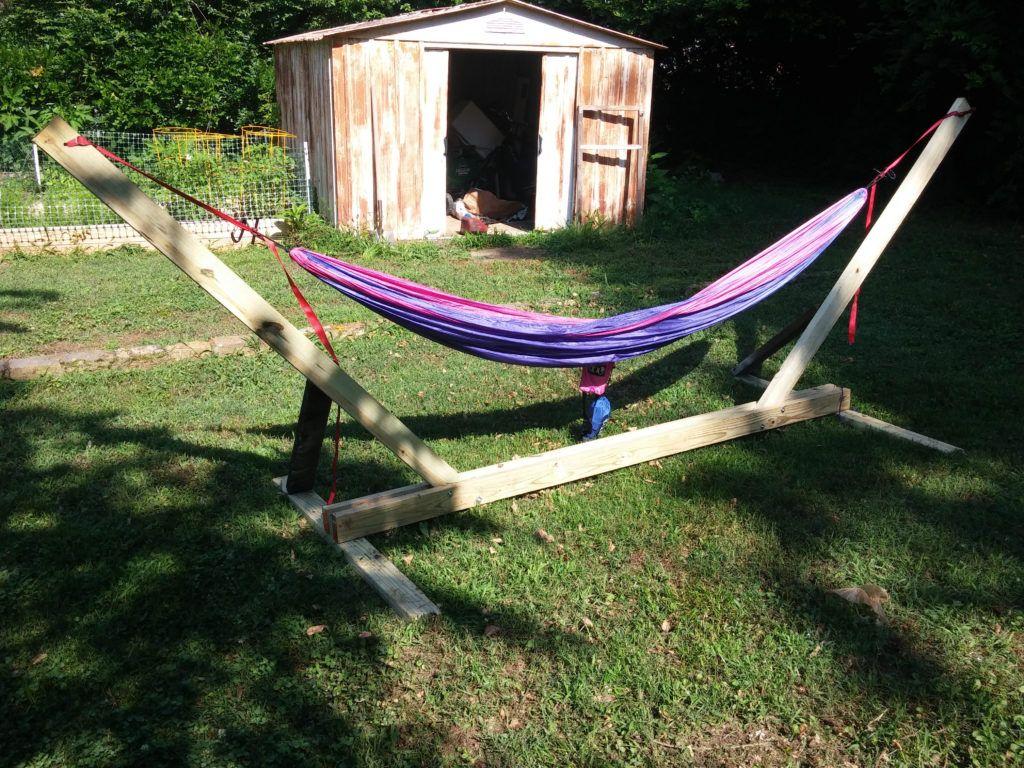 Portable hammock stand - Portable Hammock Stand