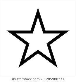 Star Vector Icon Sign Symbol Isolated On White Background Star Tattoos For Men Star Tattoo Designs Star Tattoos