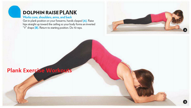 Image result for The hip raised plank