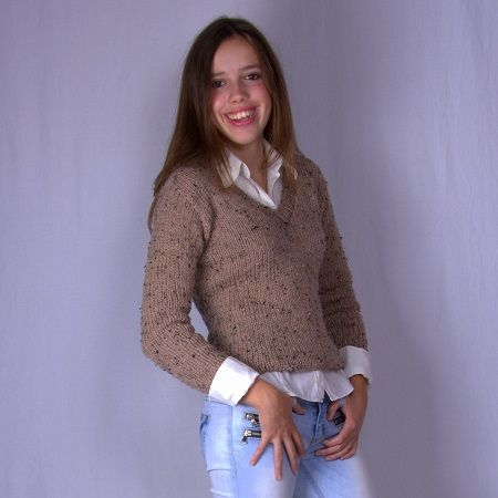 C Styling V-neck sweater - knitwear